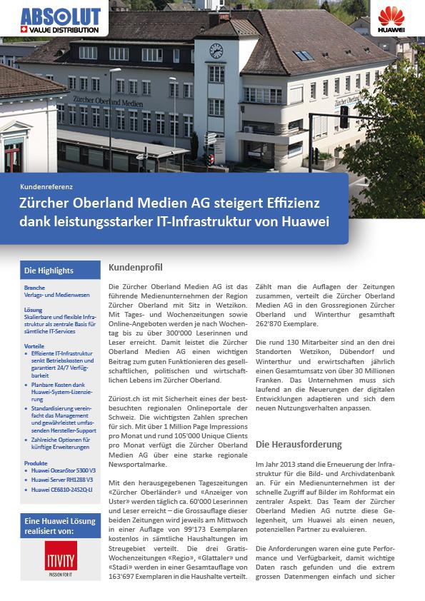 Zürcher Oberland Medien AG